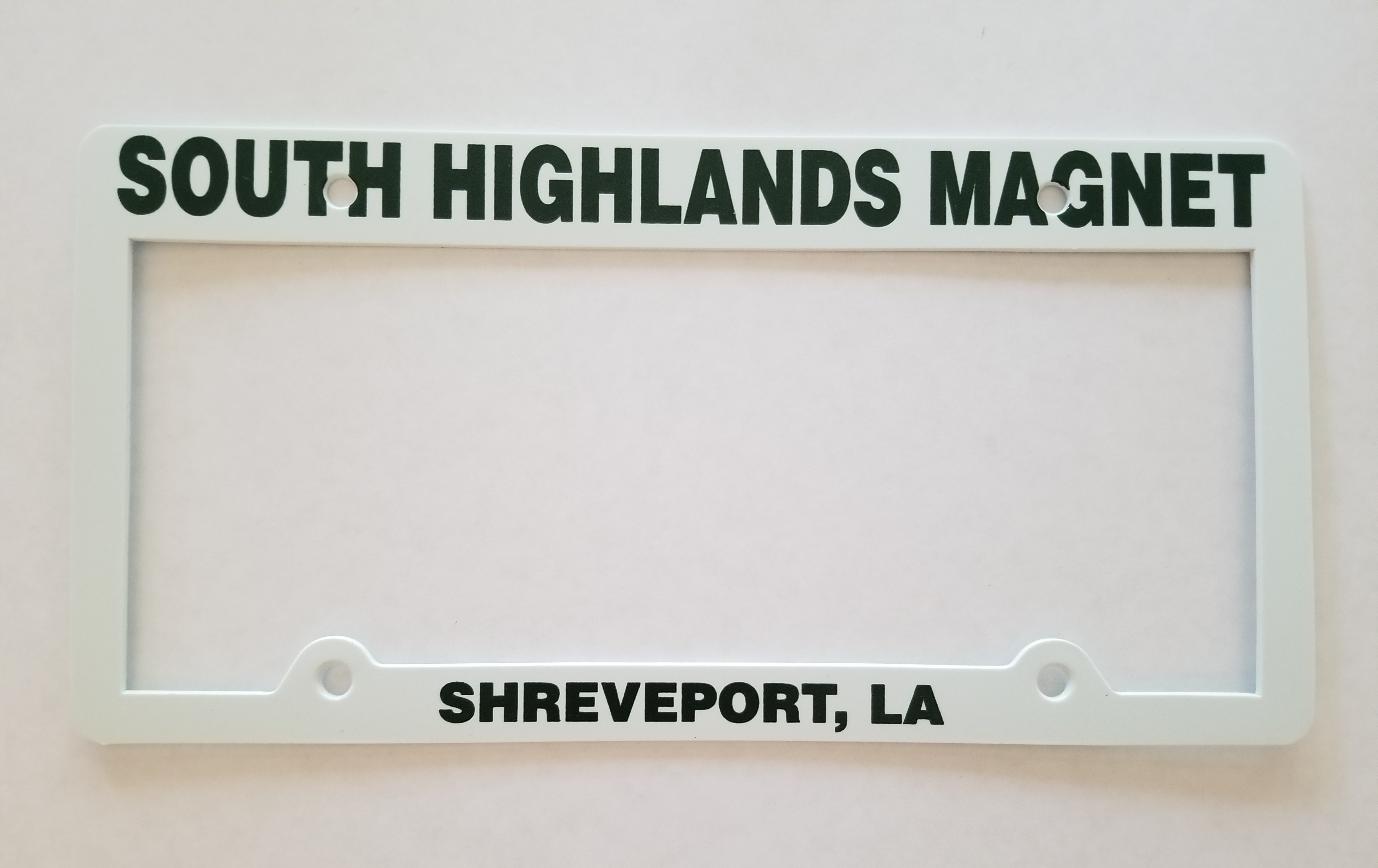 South Highlands License Plate Frame