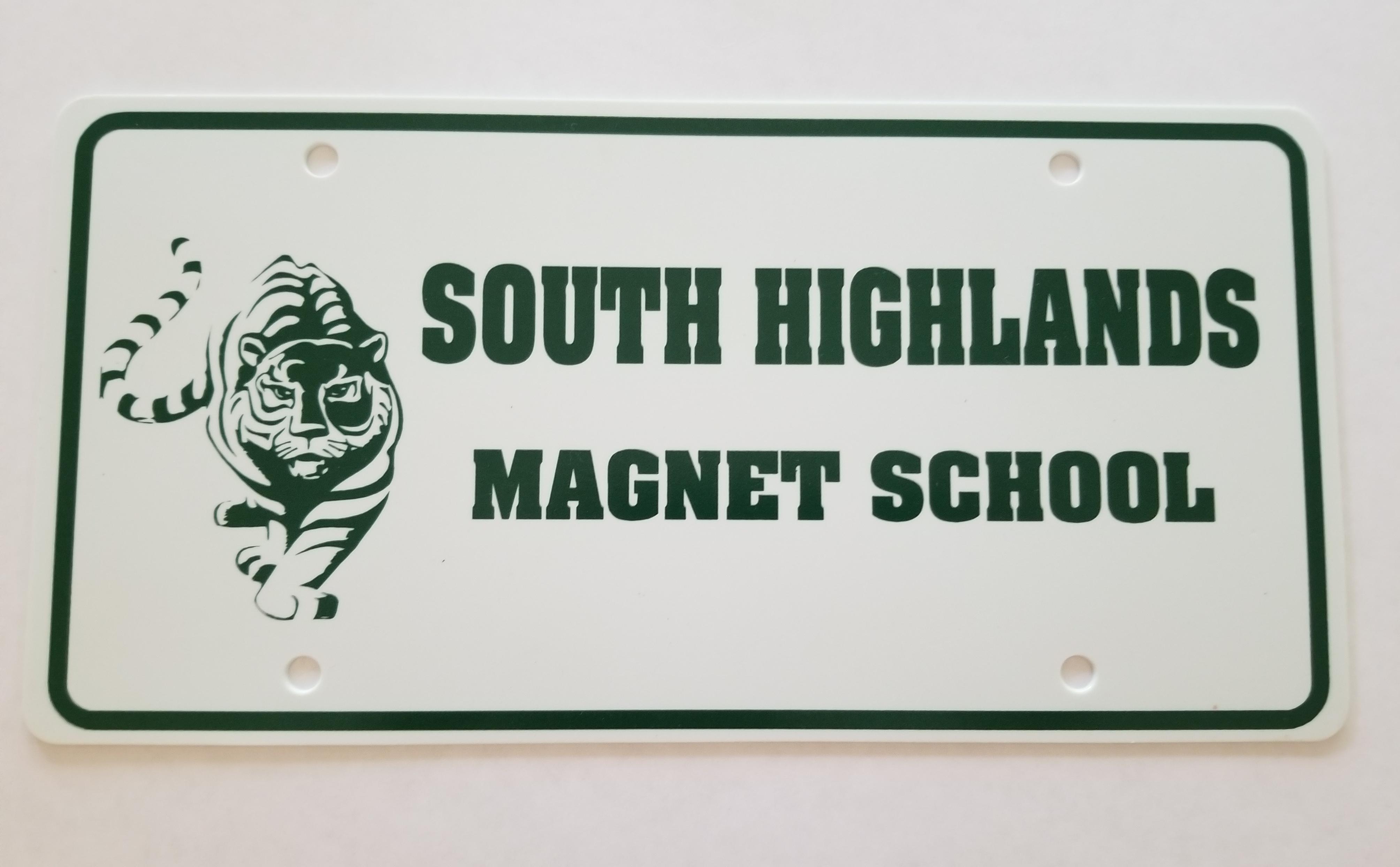 South Highlands License Plate