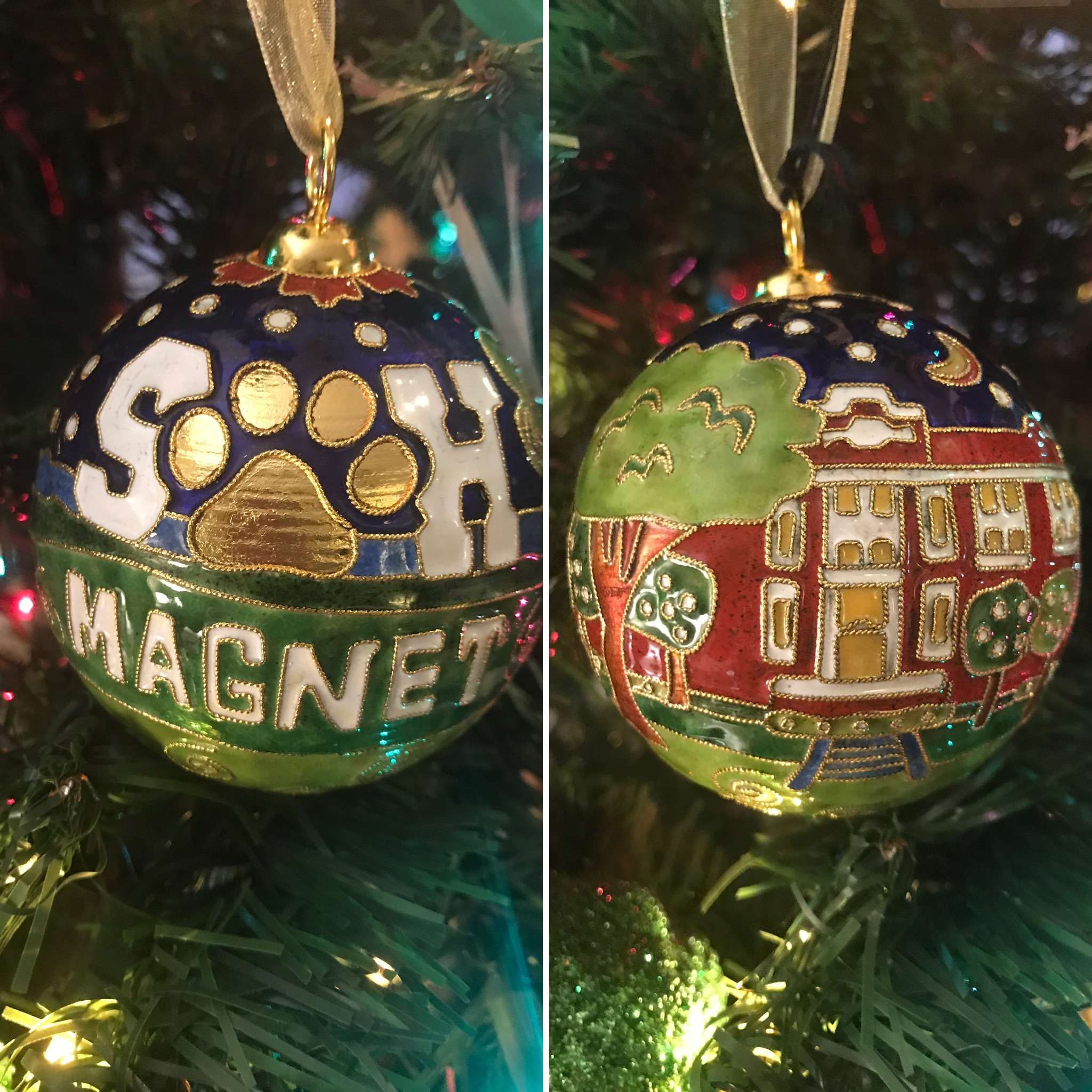 SHM Christmas Ornament
